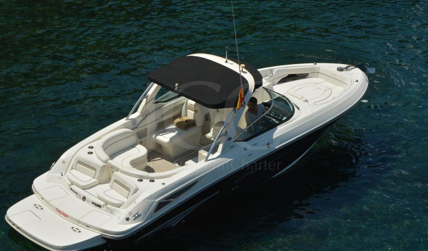 Motorboat Sea Ray 300 of 10 meters located in Marina Botafoch